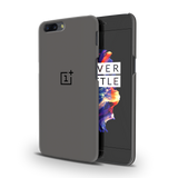 Grey Cover Case For OnePlus 5