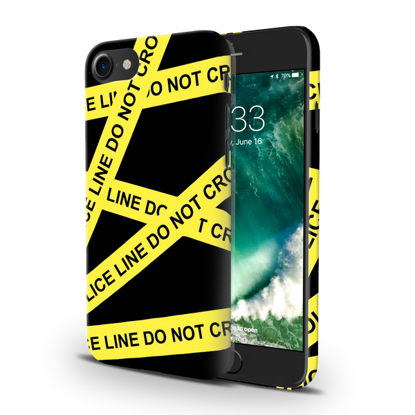 Black Don't Cross Cover Case For iPhone 7/8