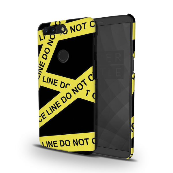 Black Don't Cross Cover Case For OnePlus 5T