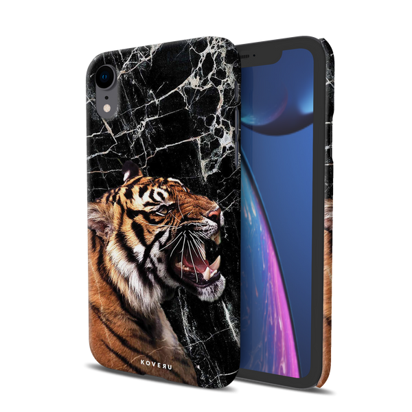 Tiger Marble Cover Case for iPhone XR