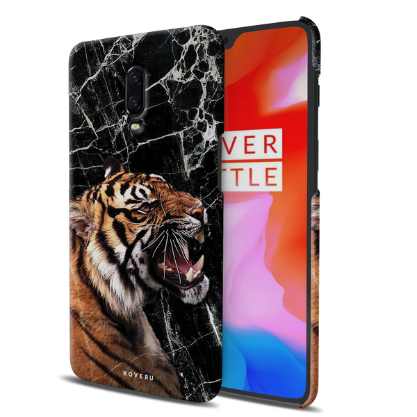 Tiger Marble Cover Case for OnePlus 6T