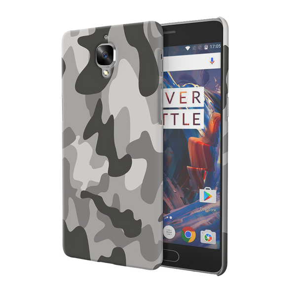 Black Army Camouflage Cover Case For OnePlus 3/3T