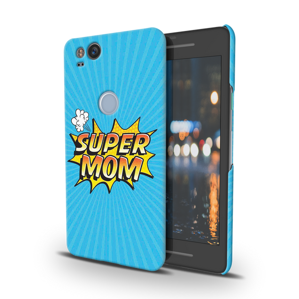 Super Mom Pop Art Cover Case For Google Pixel 2