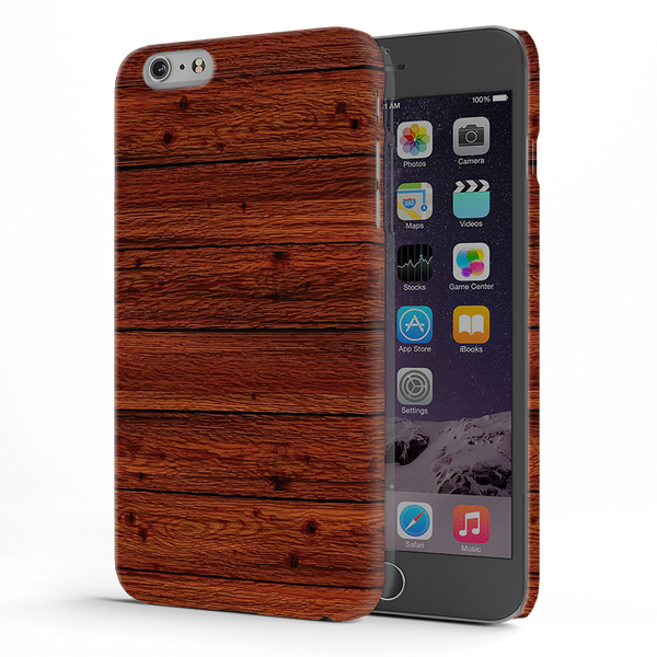 Wooden Printed Cover Case For iPhone 6/6S Plus