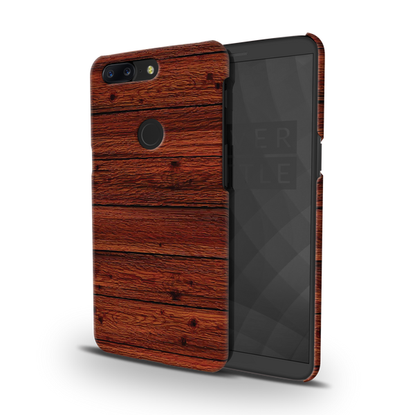 Wooden Printed Cover Case For OnePlus 5T