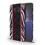 White Zebra Pattern Cover Case for Samsung Galaxy S8 Plus