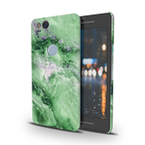 Green Marble Cover Case for Google Pixel 2