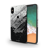 Distressed Overlay Texture Cover Case for iPhone XS