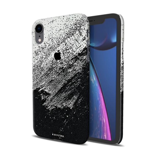 Distressed Overlay Texture Cover Case for iPhone XR