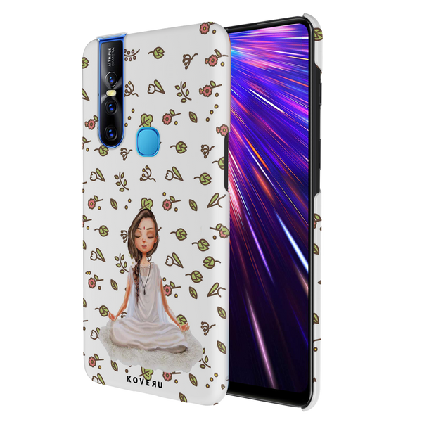 Yoga Girl Cover Case for Vivo V15