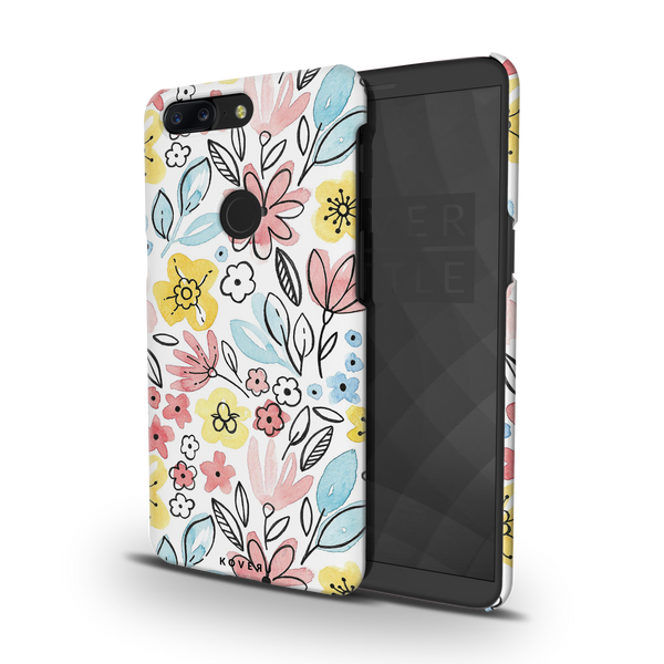 Tulip Flowers Cover Case for OnePlus 5T