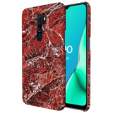 Glazed Marble Cover Case for Oppo A5 2020