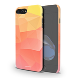 Polygon Pattern Cover Case for iPhone 7/8 Plus