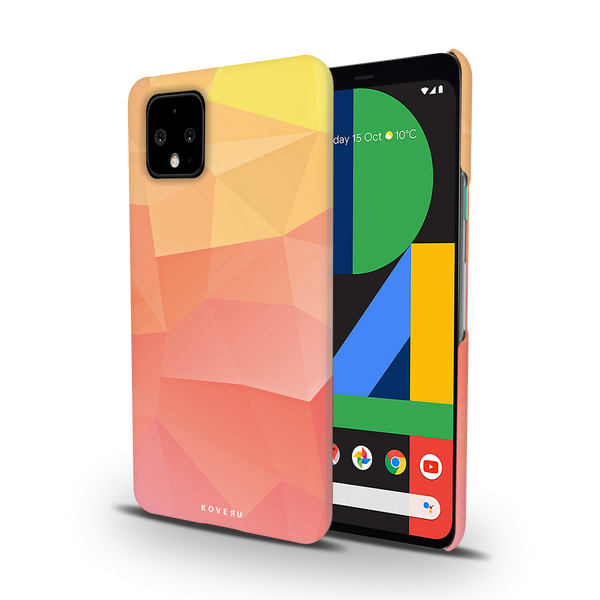 Polygon Pattern Cover Case for Google Pixel 4