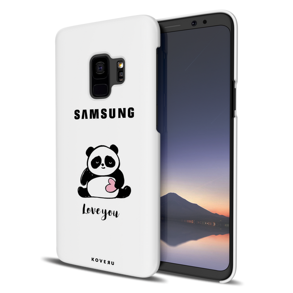 Love for Panda Cover Case For Samsung Galaxy S9
