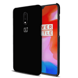 Jet Black Cover Case for OnePlus 7