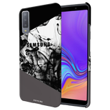 Grey Splash Cover Case for Samsung Galaxy A7 2018