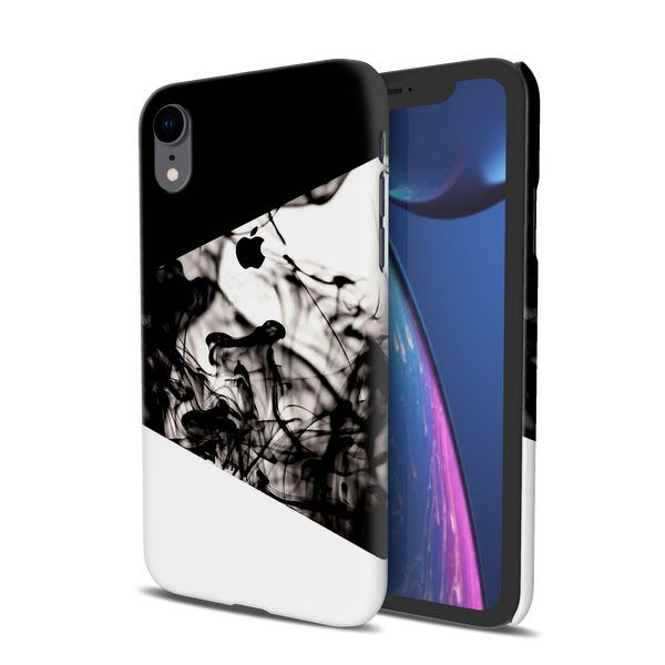 White Splash Cover Case For iPhone XR