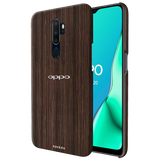 Wooden Texture Cover Case for Oppo A5 2020