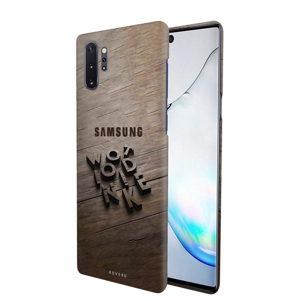 Wooden WOT Cover Case for Samsung Galaxy Note 10 Plus
