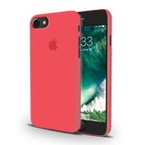 Red Back Cover Case For iPhone 7/8