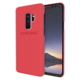 Red Back Cover Case For Samsung  Galaxy S9 Plus