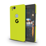 Neon Back Cover Case For Google Pixel 2