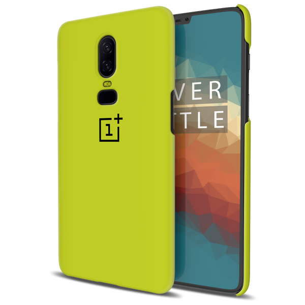 Neon Back Cover Case For OnePlus 6