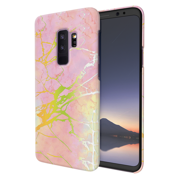Lovely Pink Marble Cover Case For Samsung Galaxy S9 Plus