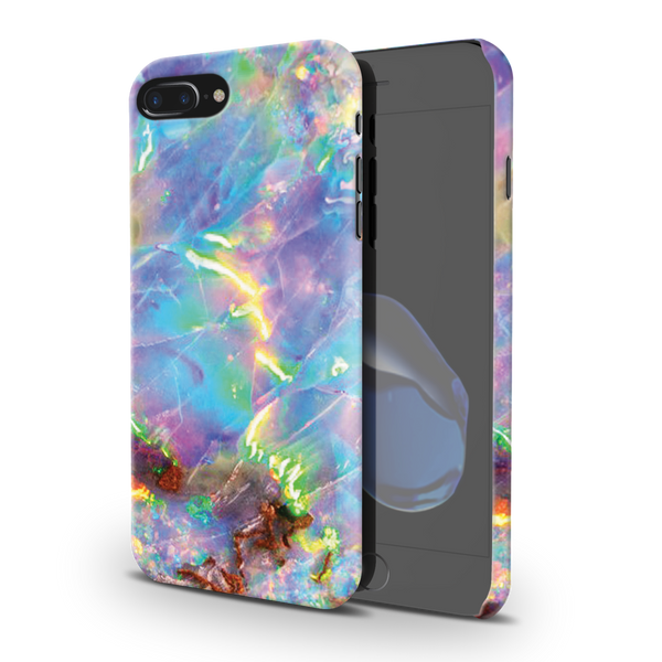 Opal Marble Cover Case For iPhone 7/8 Plus