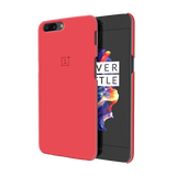 Red Back Cover Case For OnePlus 5