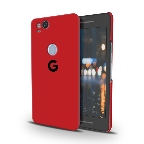 Blood Red Cover Case For Google Pixel 2