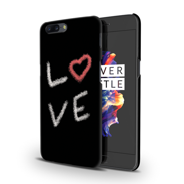 Love all Around Cover Case for OnePlus 5
