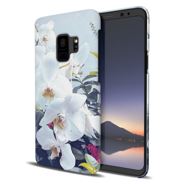 Florals and Sky Case Cover for Samsung Galaxy S9