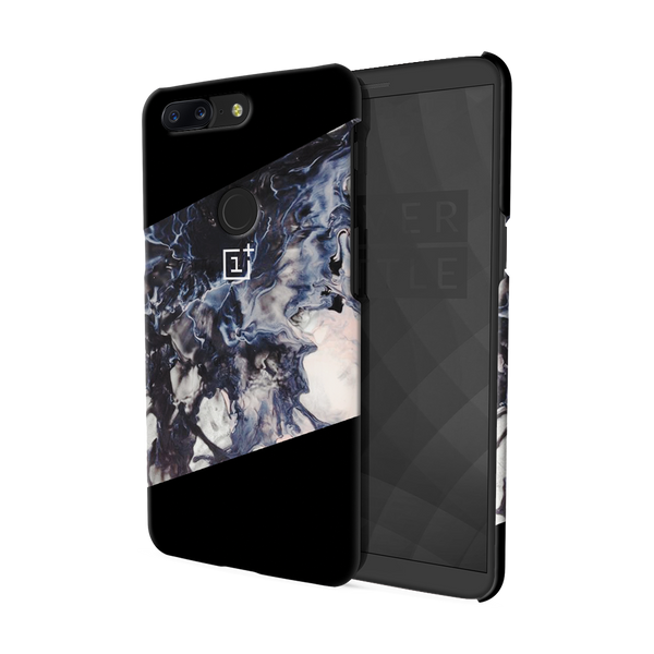 Black Splash Cover Case For OnePlus 5T