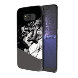 Grey Splash Cover Case For Samsung Galaxy S8