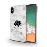 Furious Wolf Marble Cover Case For iPhone X