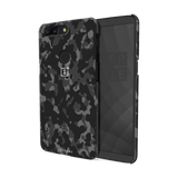 Black Camouflage Cover Case For OnePlus 5T