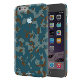 Navy Camouflage Cover Case For iPhone 6/6S Plus