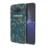 Navy Camouflage Cover Case For Samsung Galaxy S8 Plus