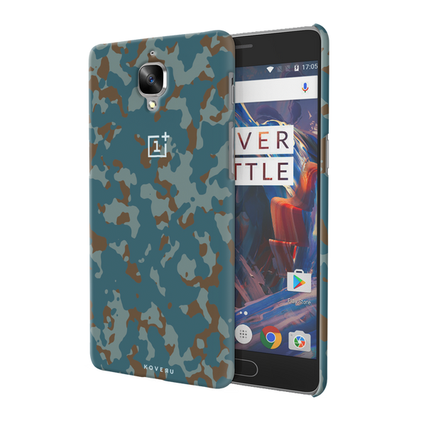 Navy Camouflage Cover Case For  OnePlus 3/3T