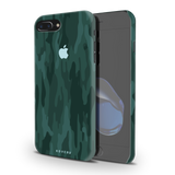 Green Camouflage Design Back Cover Case For iPhone 7/8 Plus