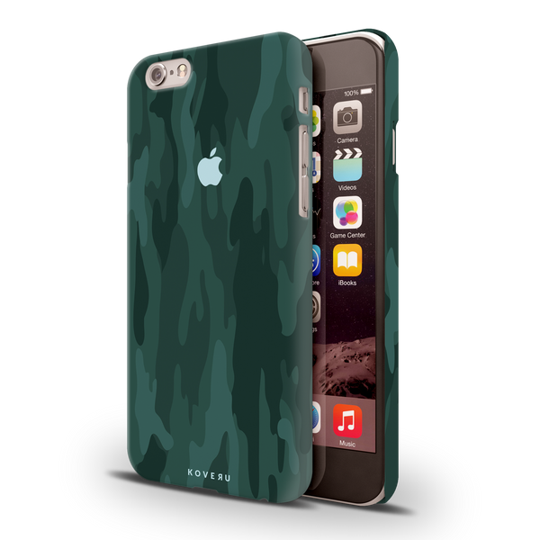 Green Camouflage Design Back Cover Case For iPhone 6/6S6/6S