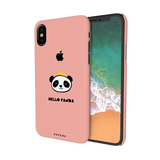 Say Hello to Panda Cover Case For iPhone X