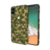 Yellow Camouflage Cover Case For iPhone X