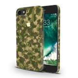Yellow Camouflage Cover Case For iPhone 7/8