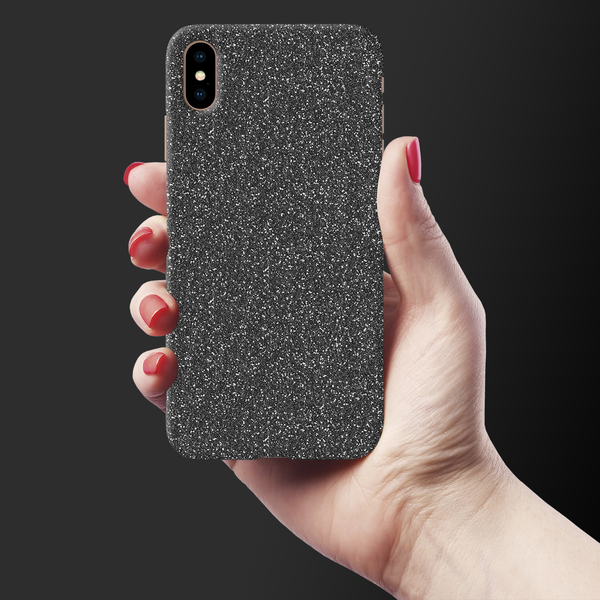 Grey Flakes Cover Case For iPhone XS Max