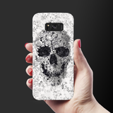 Skull Doodle Cover Case For Samsung Galaxy S8 Plus