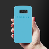 Sky Blue Cover Case For Samsung Galaxy S8 Plus
