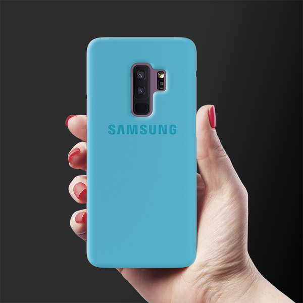 Sky Blue Cover Case For Samsung Galaxy S9 Plus